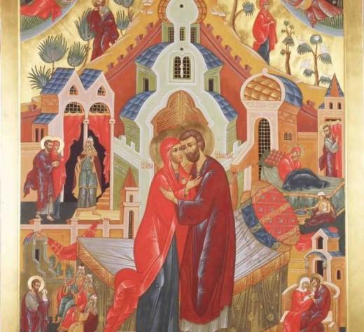 Святые и праведные Иоаким и Анна