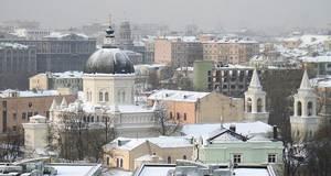 Божественная Литургия в Иоанно-Предтеченском монастыре Москвы