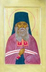 Икона преподобномученика Кронида (Любимова)