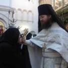 25 января, воскресенье.Гость обители – монах-архимандрит из Америки