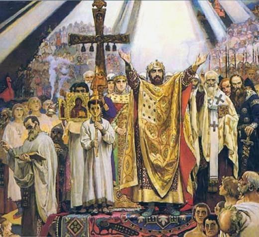 Патриарх Кирилл. 1000-летие преставления князя Владимира