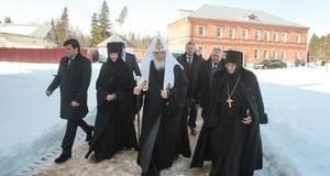 Патриарх в Зосимовой пустыни