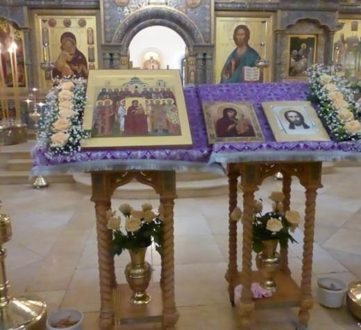 Чин Православия в монастыре
