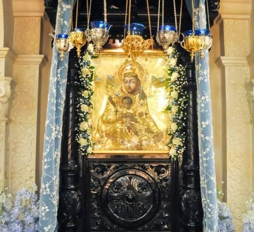 Чтимые иконы Божией Матери в обители
