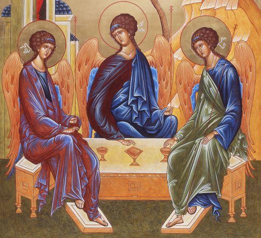 7 июня. День Святой Троицы. Пятидесятница