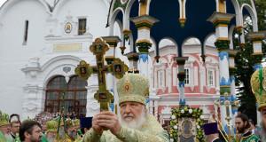 Проповедь Патриарха Кирилла в день обретения честных мощей преп. Сергия, игумена Радонежского