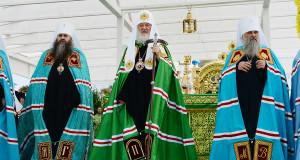 Проповедь Патриарха Кирилла в праздник обретения мощей преп. Серафима, Саровского чудотворца
