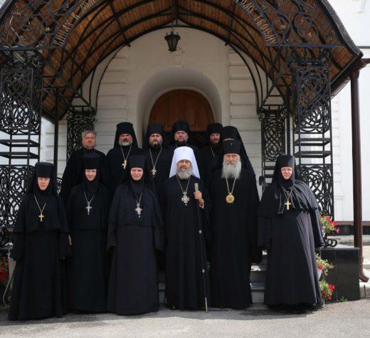 Собрание монашествующих в Тульской епархии