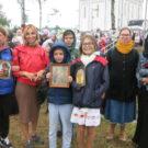 Воскресная школа подворья  в Елисаветинском крестном ходе