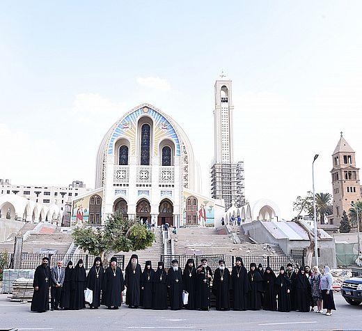 По общехристианским святыням Египта