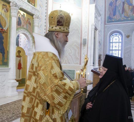 Празднование в Покровском Хотькове монастыре