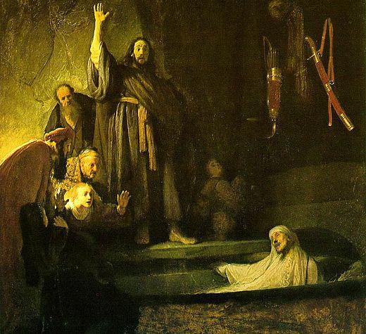Беседа на Четвертодневного Лазаря