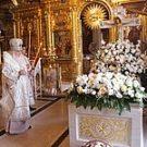Представители Синодального отдела по монастырям и монашеству почтили память Святейшего Патриарха Алексия II в Богоявленском кафедральном соборе г. Москвы