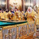 Рака с мощами святых благоверных Петра и Февронии