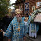 Преосвященный епископ Порфирий совершил Литургию на монастырском подворье