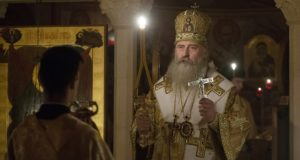Владыка Феогност в Неопалимой Купине