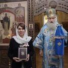Митрополит Каширский Феогност вручил главному редактору сайта СОММ орден прп. Евфросинии Московской III степени