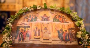 14 октября. Покров Пресвятой Богородицы. Престольный праздник храма на подворье монастыря в Барвихе